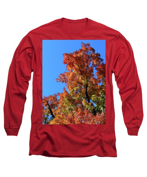 Autumn Foliage Long Sleeve T-Shirt