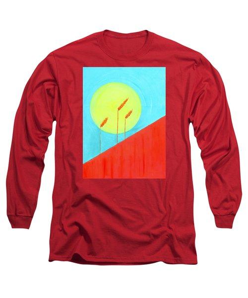 Autumn Harvest Long Sleeve T-Shirt by J R Seymour