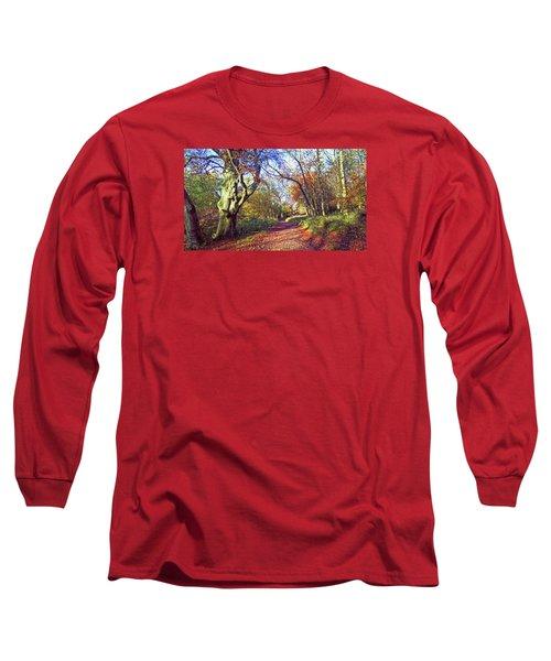 Autumn In Ashridge Long Sleeve T-Shirt by Anne Kotan