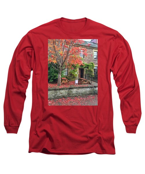 Autumn In Dunblane Long Sleeve T-Shirt by RKAB Works