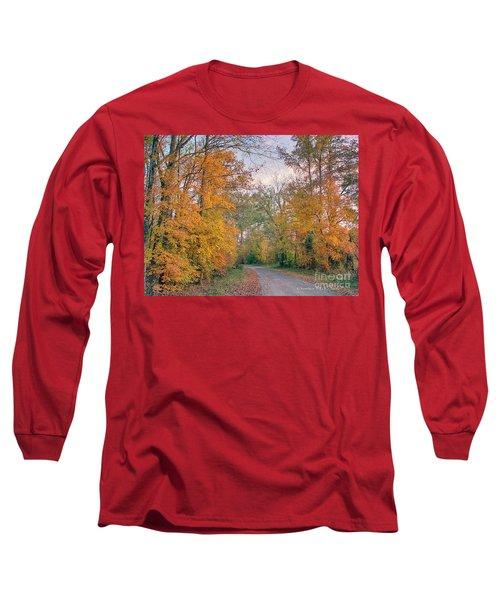 Autumn In East Texas Long Sleeve T-Shirt