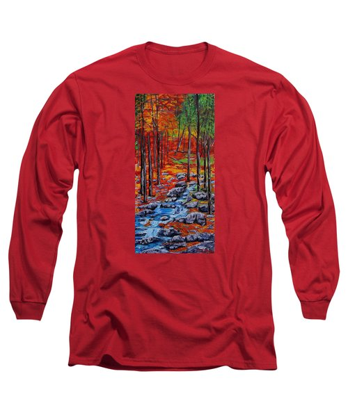 Autumn In The Air 2 Long Sleeve T-Shirt by Mike Caitham