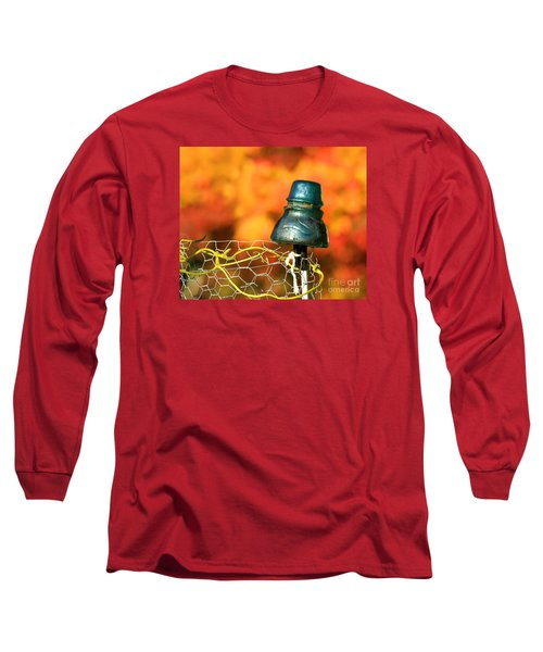 Long Sleeve T-Shirt featuring the photograph Autumn Insulator by Debbie Stahre