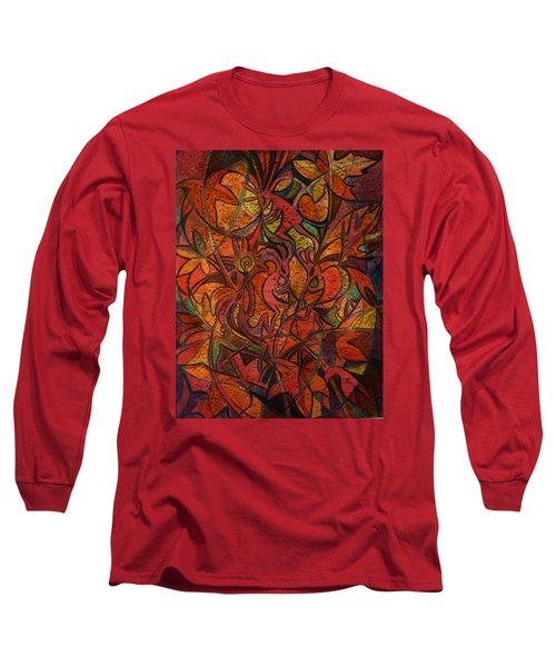 Autumn Kokopelli Long Sleeve T-Shirt