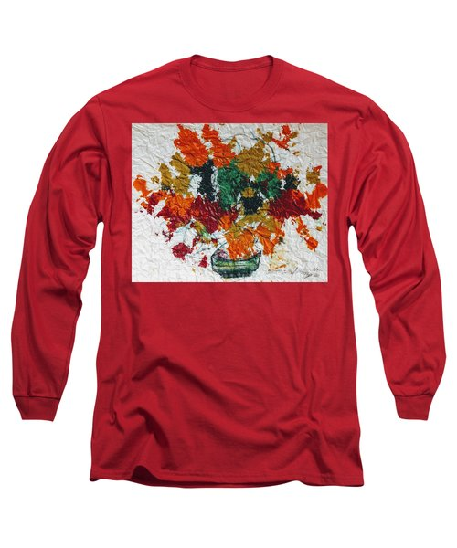 Autumn Leaves Plant Long Sleeve T-Shirt