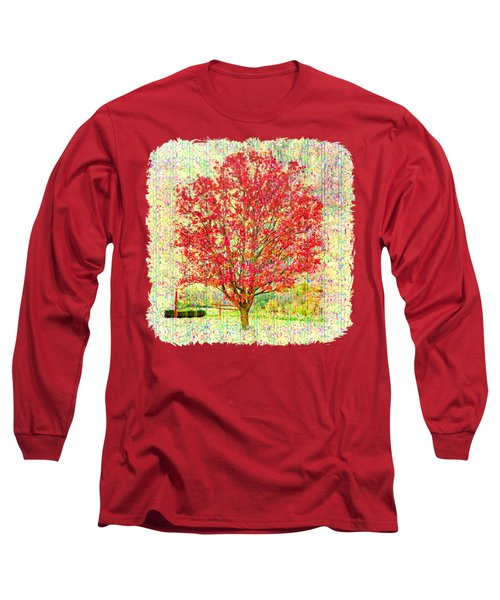 Autumn Musings 2 Long Sleeve T-Shirt by John M Bailey