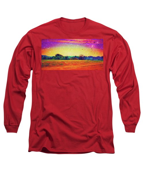 Autumn On Earth Two Long Sleeve T-Shirt