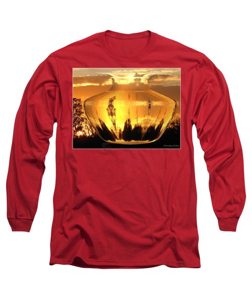 Long Sleeve T-Shirt featuring the photograph Autumn Spirits by Joyce Dickens