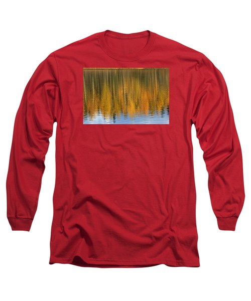 Autumn Tree Reflections Long Sleeve T-Shirt