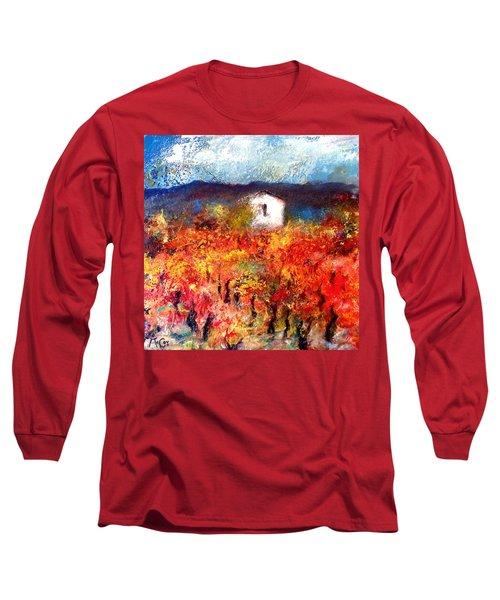 Autumn Vineyard Long Sleeve T-Shirt