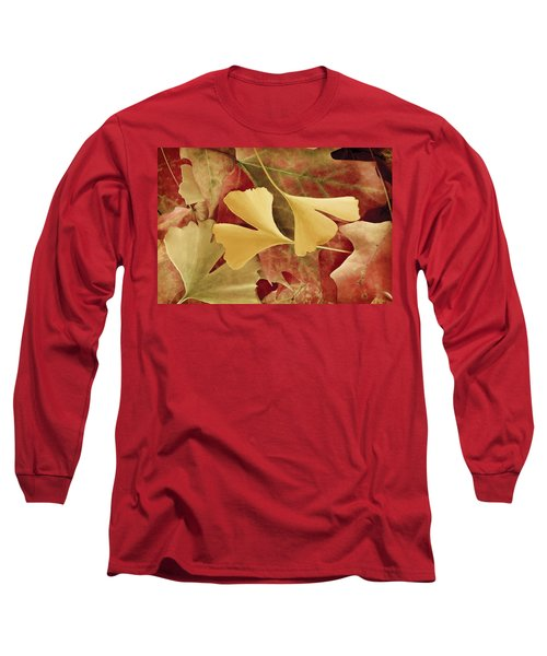 Autumn Yellow Long Sleeve T-Shirt