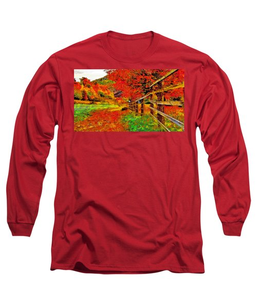 Autumnal Blaze Of Glory Long Sleeve T-Shirt