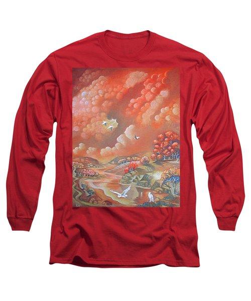 Avian Landscape Long Sleeve T-Shirt
