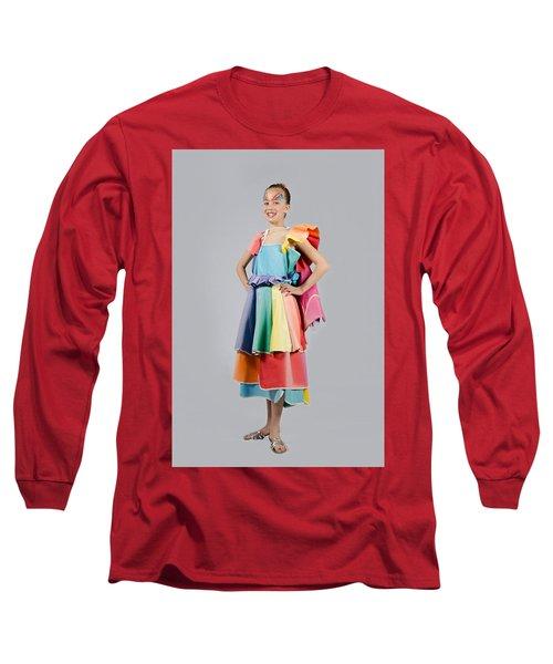 Aviva In Patio Umbrella Dress Long Sleeve T-Shirt