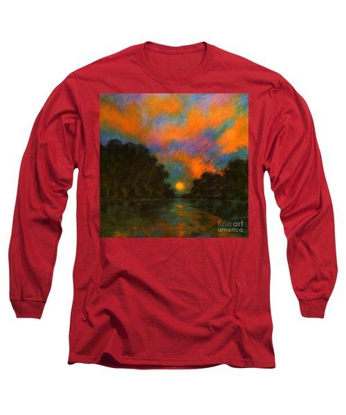 Awaken The Dream Long Sleeve T-Shirt by Alison Caltrider