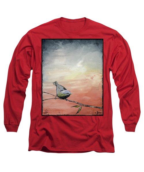 Awakening Long Sleeve T-Shirt by Carolyn Doe