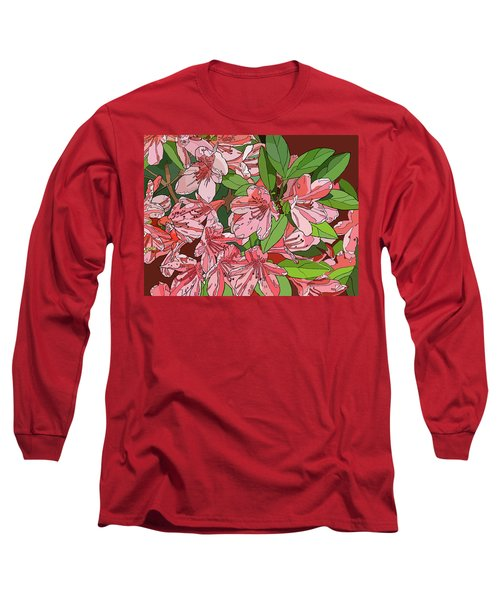 Azalea Bunch Long Sleeve T-Shirt by Jamie Downs