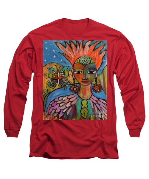 Aztec Princess Long Sleeve T-Shirt