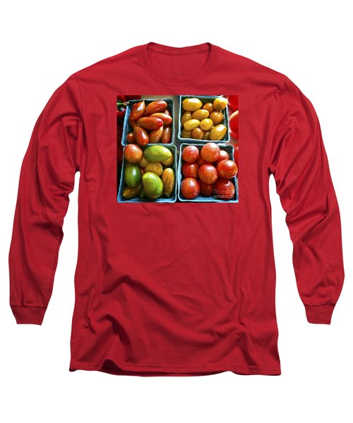 Baby Tomato Medley Long Sleeve T-Shirt by Dee Flouton
