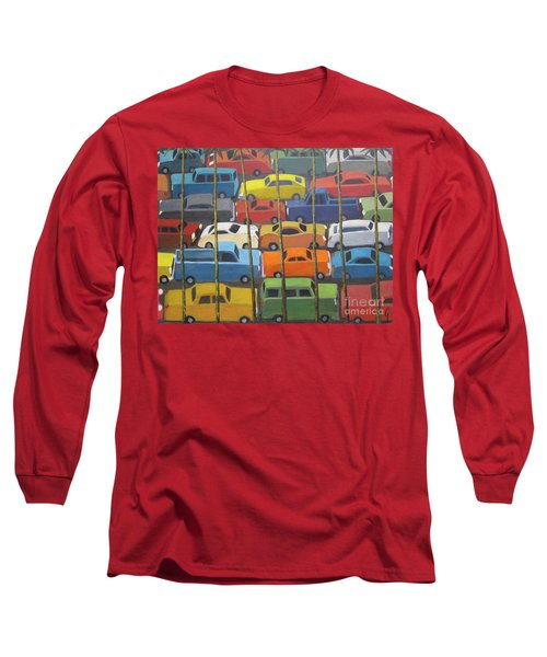 Back And Forth Long Sleeve T-Shirt by Glenn Quist