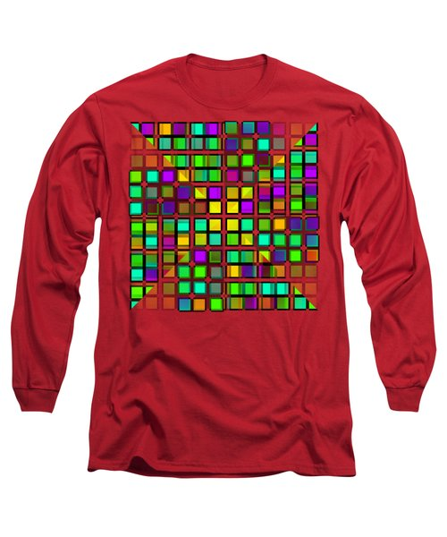 Colour Choice Squares 2 Long Sleeve T-Shirt