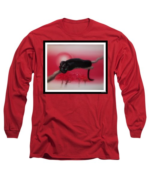 Bad Leopard   Long Sleeve T-Shirt