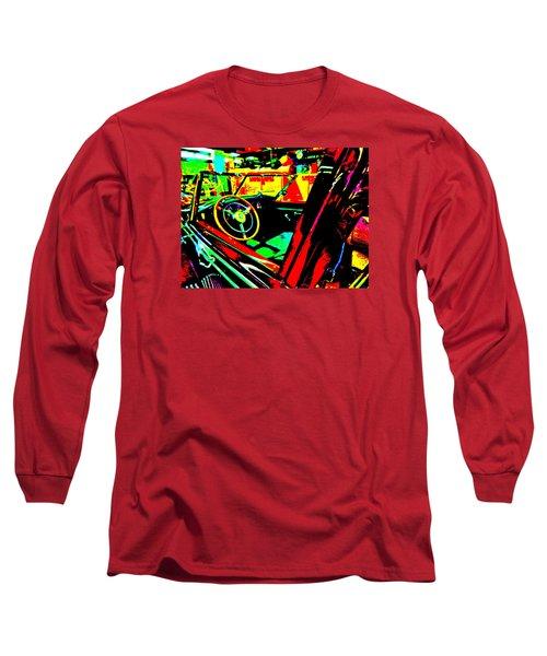 Bahre Car Show II 29 Long Sleeve T-Shirt by George Ramos