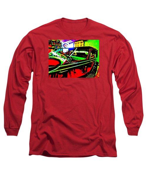 Bahre Car Show II 31 Long Sleeve T-Shirt by George Ramos