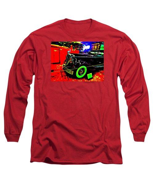 Bahre Car Show II 32 Long Sleeve T-Shirt by George Ramos