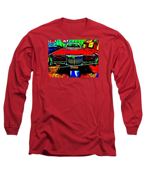 Bahre Car Show II 38 Long Sleeve T-Shirt by George Ramos