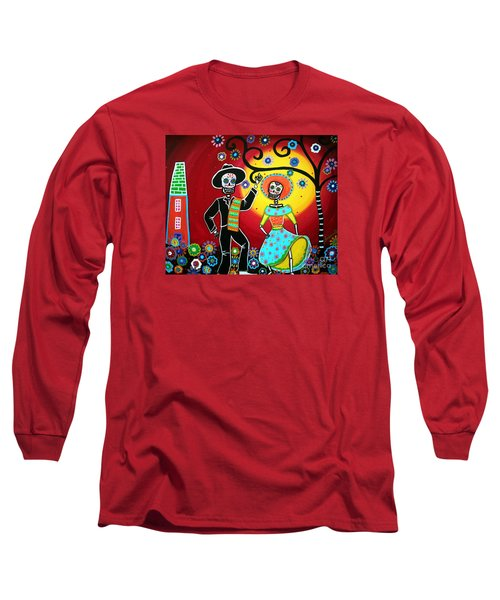 Bailar Long Sleeve T-Shirt by Pristine Cartera Turkus