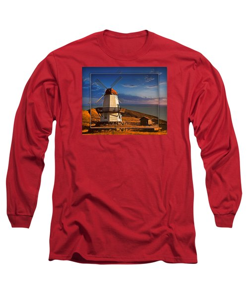 Baker City Windmill_1a Long Sleeve T-Shirt