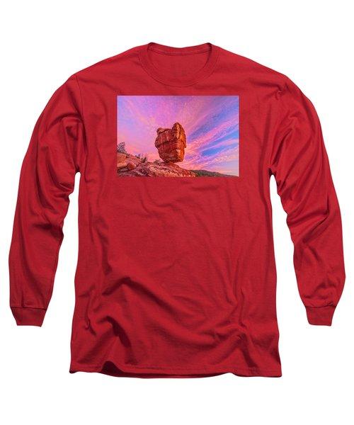 Balanced Precariously  Long Sleeve T-Shirt