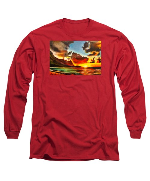 Bali Hai Long Sleeve T-Shirt