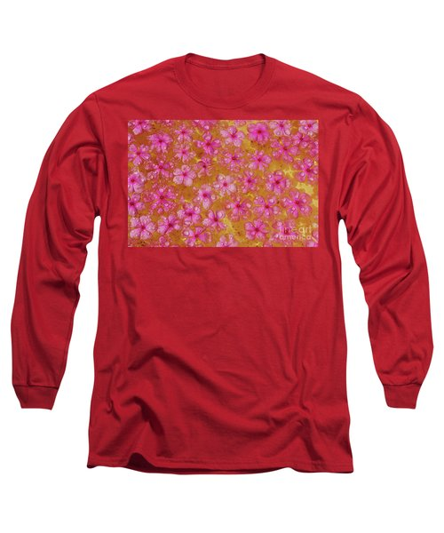 Balinese Flowers Long Sleeve T-Shirt