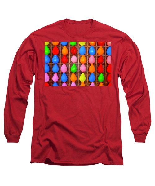 Balloon Game Long Sleeve T-Shirt