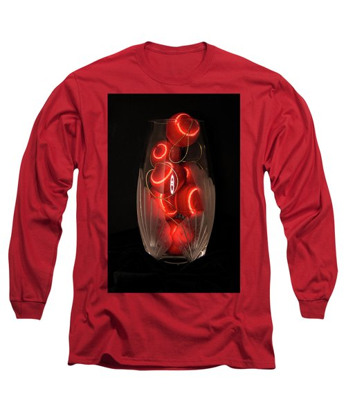 Balls In Crystal Vase Long Sleeve T-Shirt