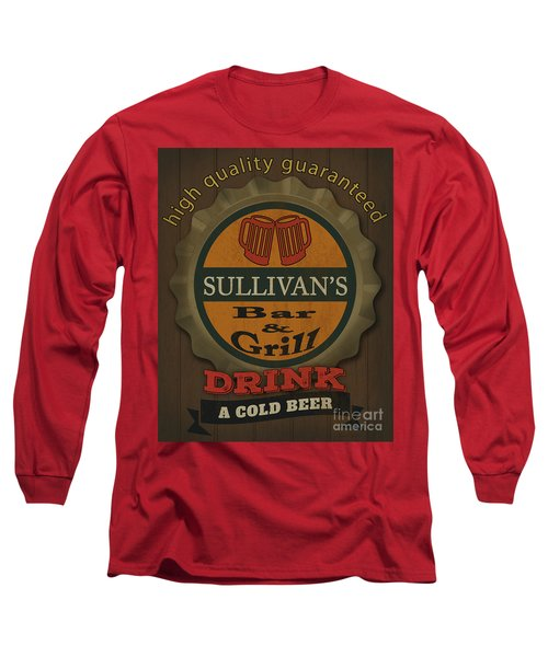 Bar And Grill-personalized Long Sleeve T-Shirt