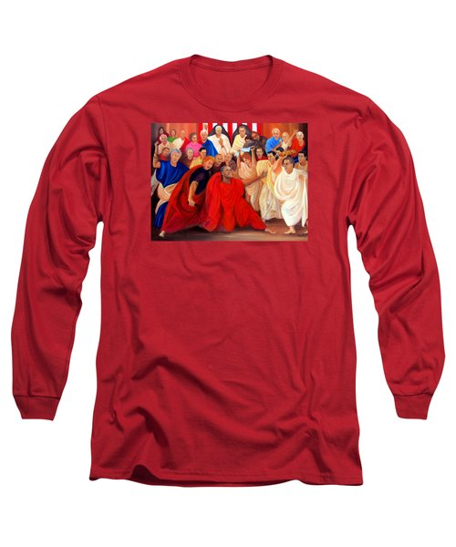 Barack Obama And Friends Long Sleeve T-Shirt
