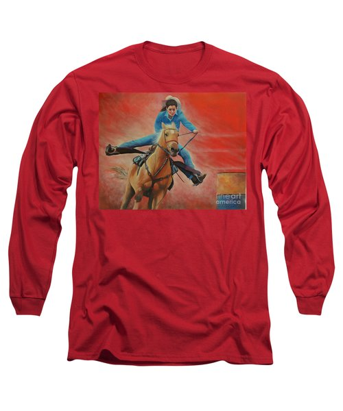 Barrel Racing Long Sleeve T-Shirt