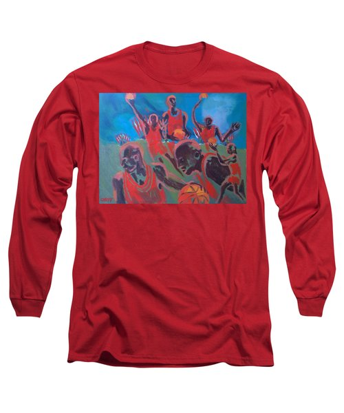 Basketball Soul Long Sleeve T-Shirt