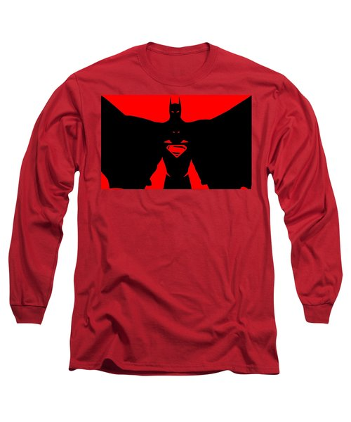 Batman/superman Long Sleeve T-Shirt