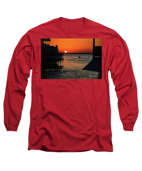 Bayou Vista Sunset Long Sleeve T-Shirt
