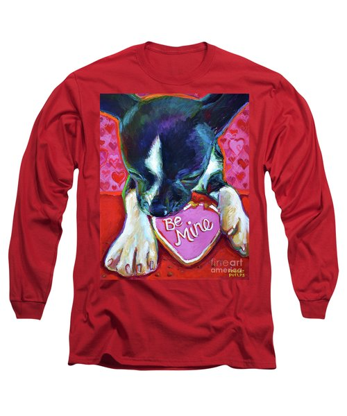 Long Sleeve T-Shirt featuring the painting Be Mine by Robert Phelps
