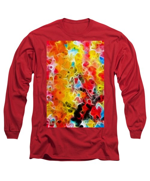 Be Strong Do Not Fear Isaiah 35 4-5 Long Sleeve T-Shirt by Mark Lawrence