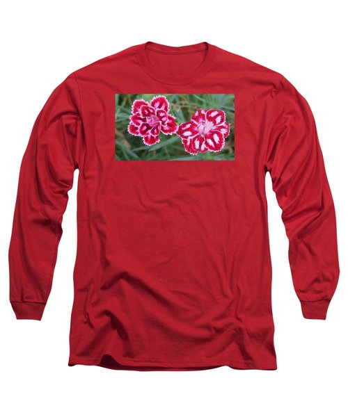 Beauties In My Garden Long Sleeve T-Shirt by Jeanette Oberholtzer