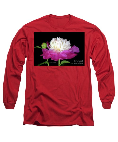 Beautiful Fancy Peony Long Sleeve T-Shirt