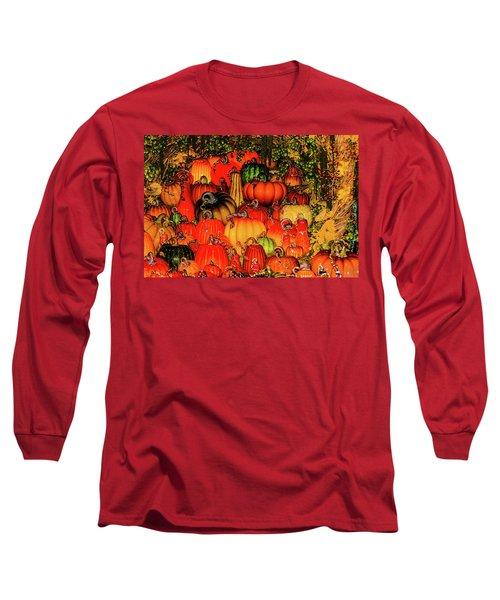 Beautiful Glass Pumpkins Long Sleeve T-Shirt