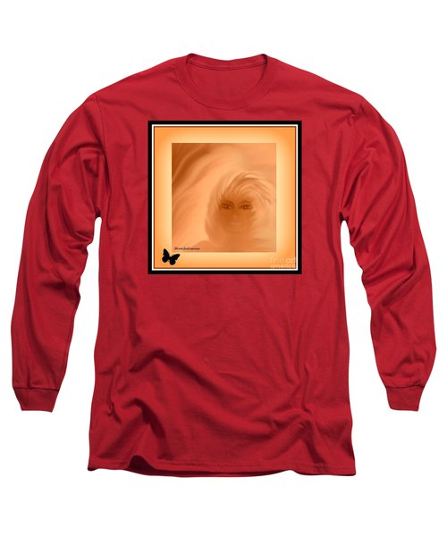 Long Sleeve T-Shirt featuring the painting Beautiful Is In The Eyes Of The Beholder By Sherriofpalmsprings by Sherri  Of Palm Springs
