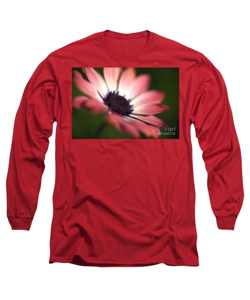 Beautiful Rich African Daisy Zion Red Flower Long Sleeve T-Shirt